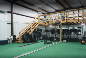 metal training gym