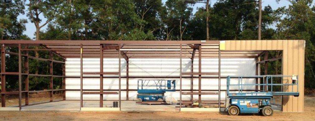 Aiken South Carolina Steel Building