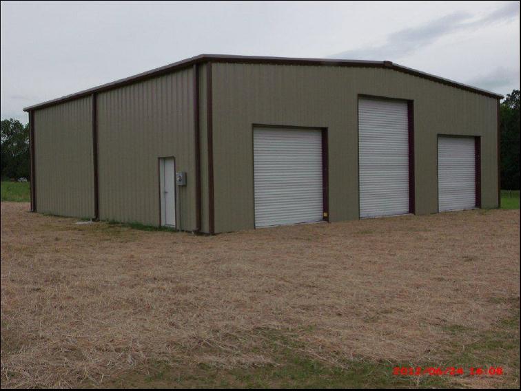 Steel Building Dozier, Alabama