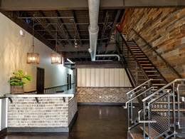 Commercial Steel Building Interior