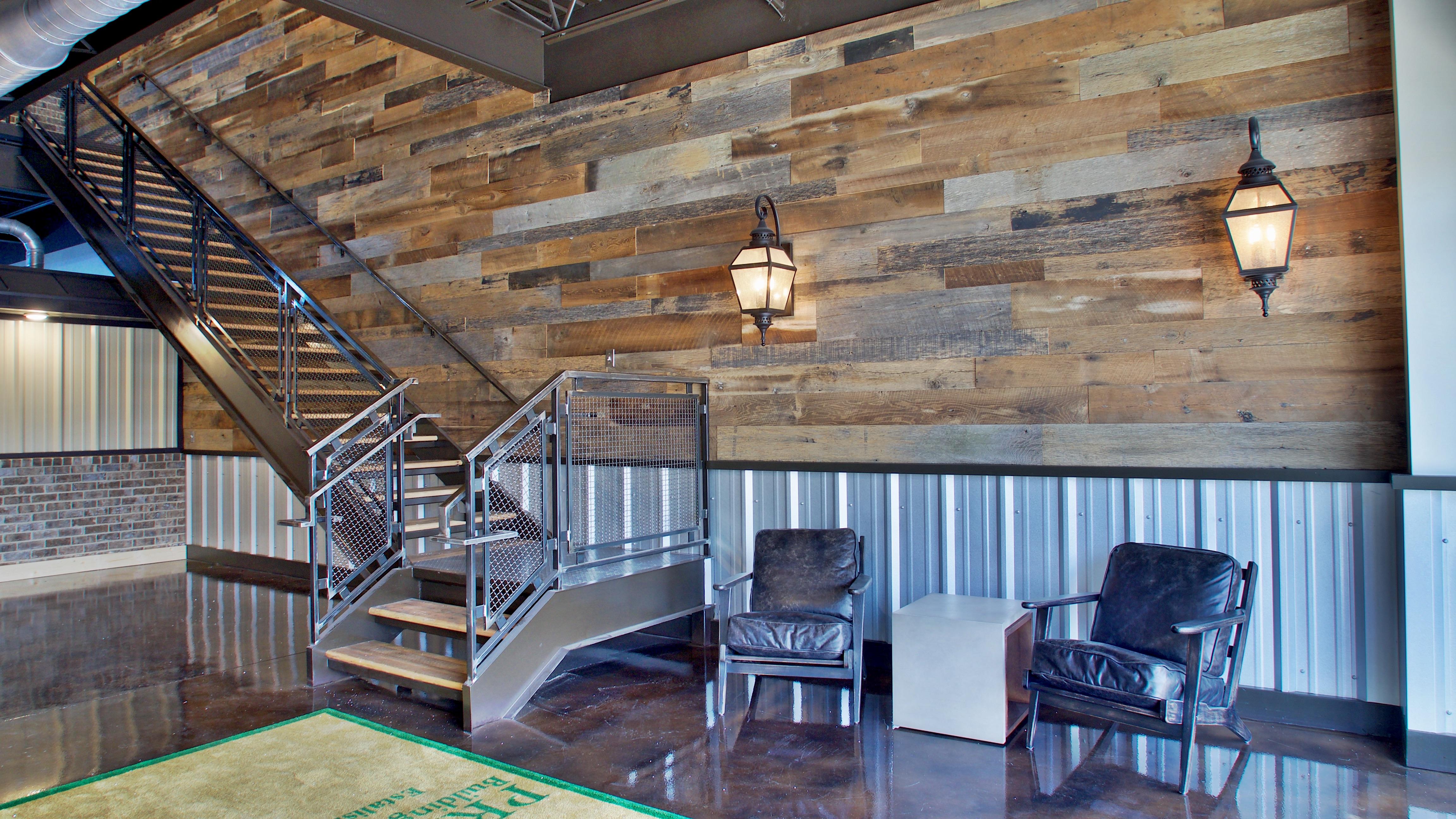 Steel Building Stairway