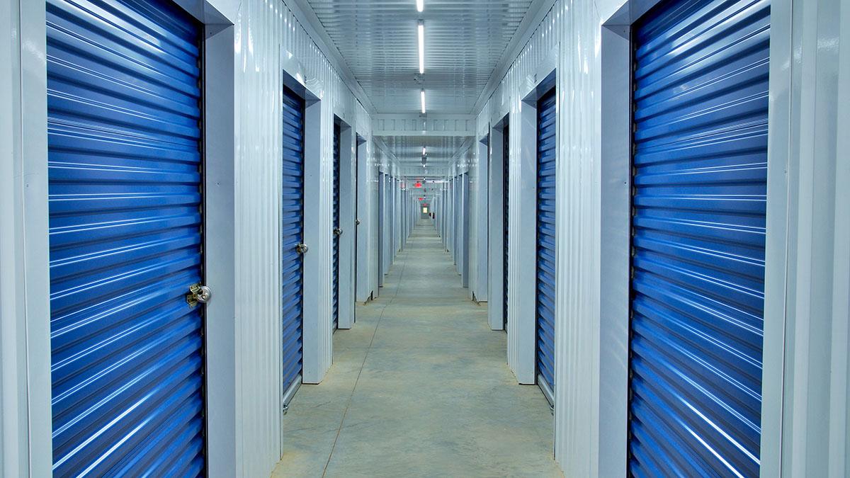 Mini-Storage Hallway