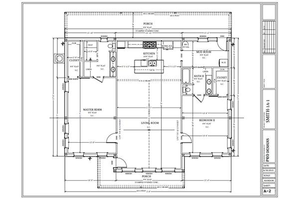 Ranch Floorplan