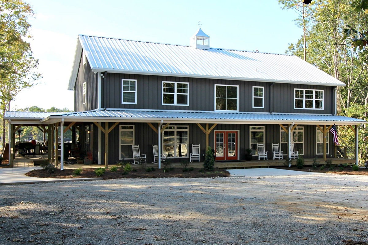 Steel Barn Home