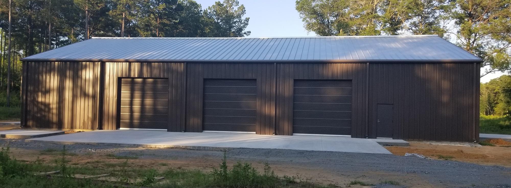 Steel Garage and Shop