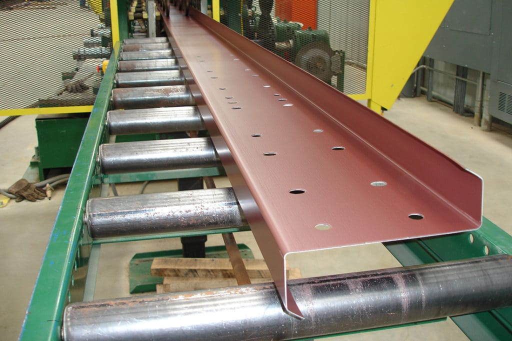 Steel building purlin