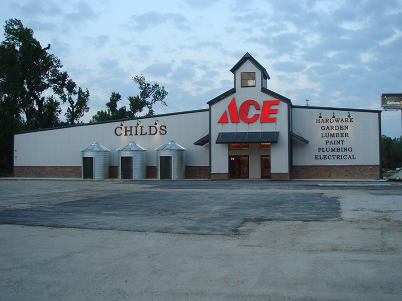 Hardware Store - Commercial Steel Building