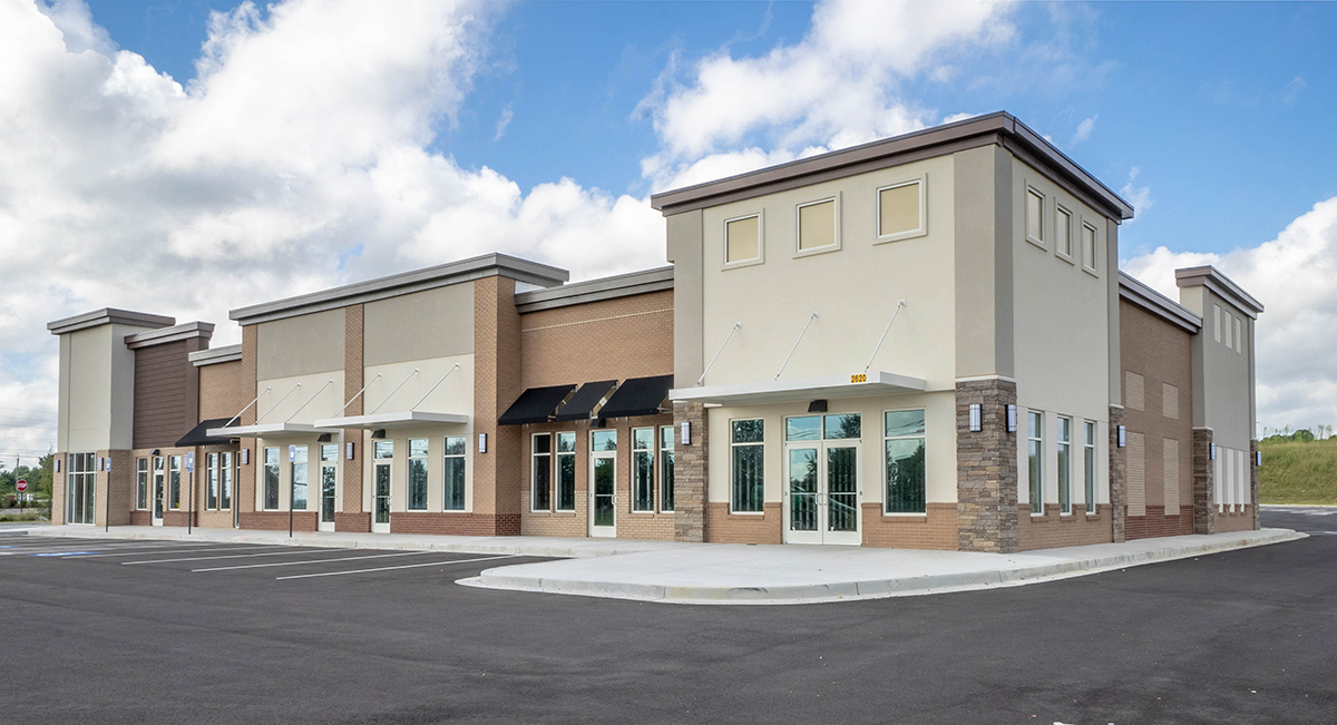 Highpoint Retail Steel Building