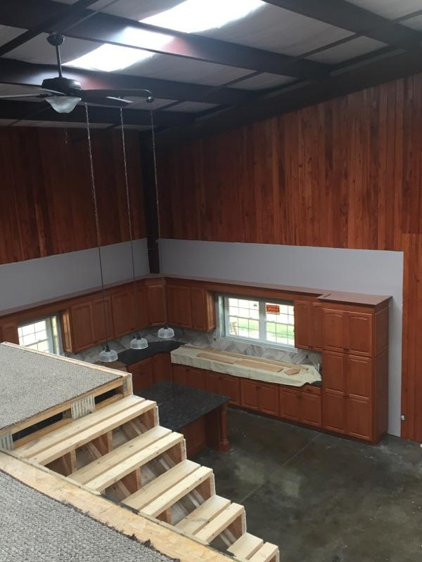 Barn Home Kitchen Buildout