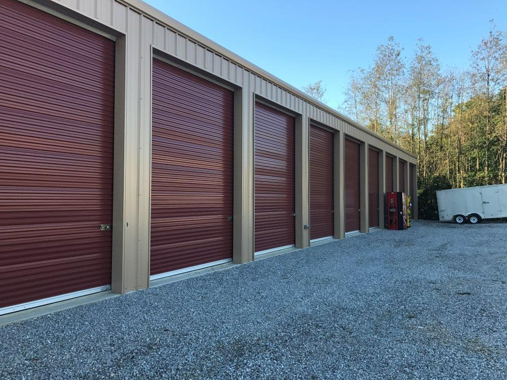 Steel Mini Storage Unit Building