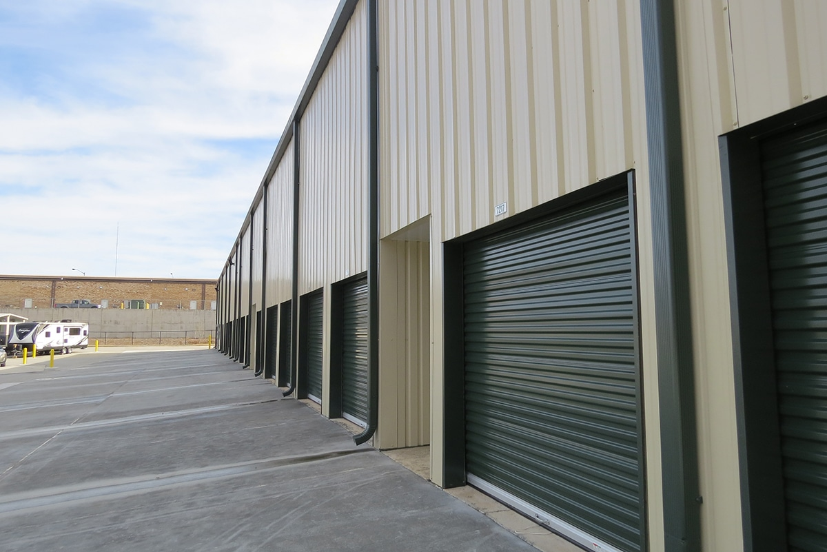 Climate Controlled Steel Mini Storage Building