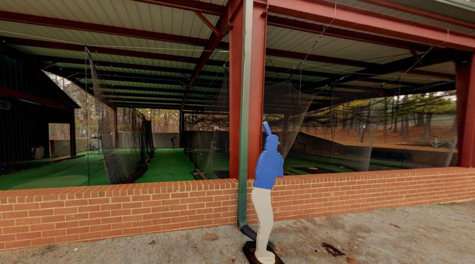 High School Batting Cage - Steel Building