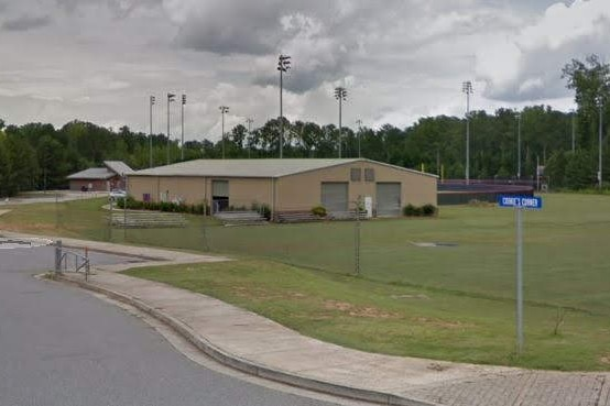 High School Baseball Steel Building
