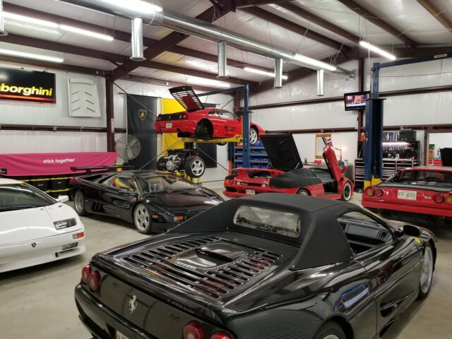 Car Collection in Steel Building