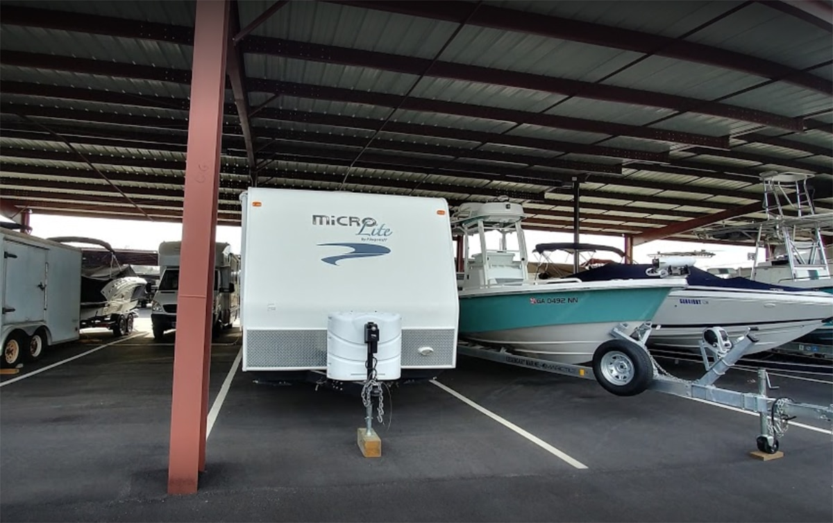 Boat and RV Storage Building